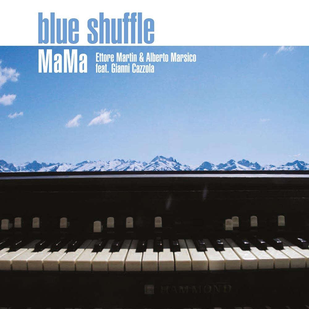 blue shuffle cd copertina
